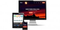 Moon Theme Responsive Free Bootstrap