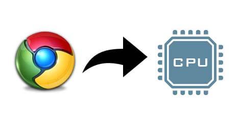 ridurre consumo cpu google chrome